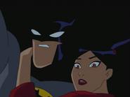 Yin and batman escape