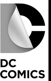 Dc comics logo detail