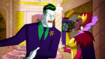 Harley Quinn - El Guasón le ordena a la Reina acabar con Harley