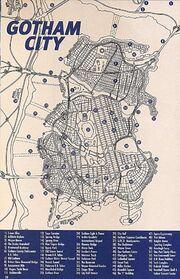 Gotham City map