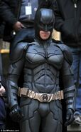 Batman close up TDKR