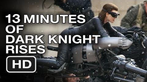 ¡PG-13, Tráiler en cámara súper lenta y Bus japonés de 'The Dark Knight Rises'!