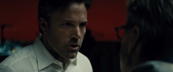 Bruce revela su odio hacia Superman