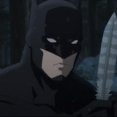 Batman encuentra la pluma.