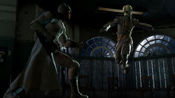 Batman vs Lady Arkham