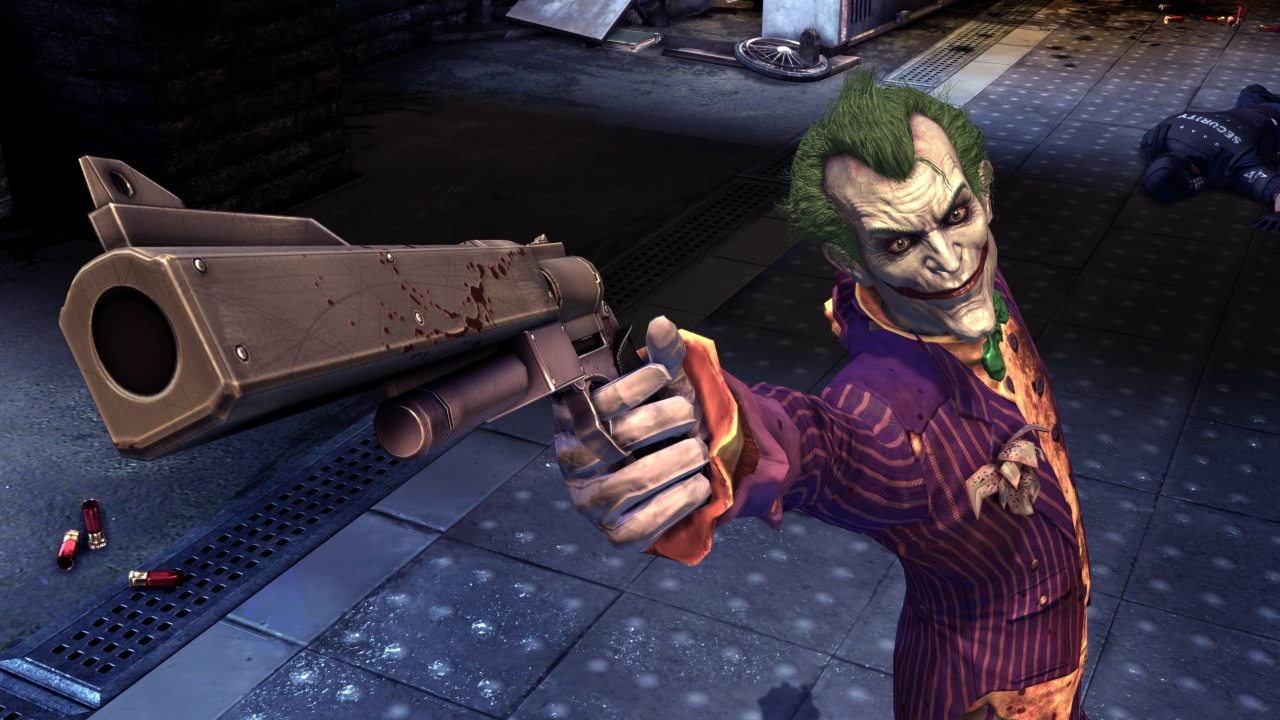 """Image result for The Joker """"Batman: Arkham"""
