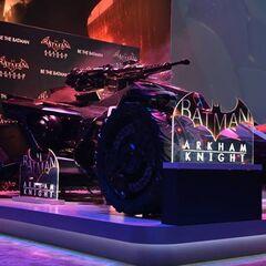 Modelo real del Batmóvil