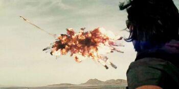 Knyazev ve la explosión del drone