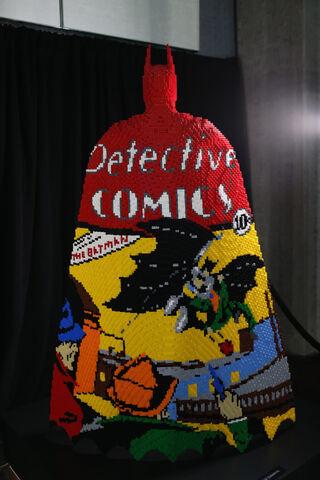 File:SDCC2014-Batman-Cape-Cowl create Art Exhibit 452635890.jpg