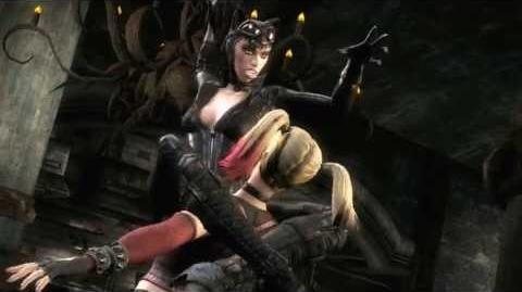 Injustice Gods Among Us - Arkham Catwoman vs