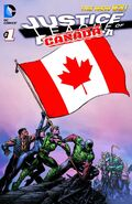 Justice League of Canada Volume 1 Teaser Poster