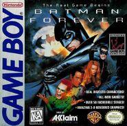 Batman Forever Game Boy