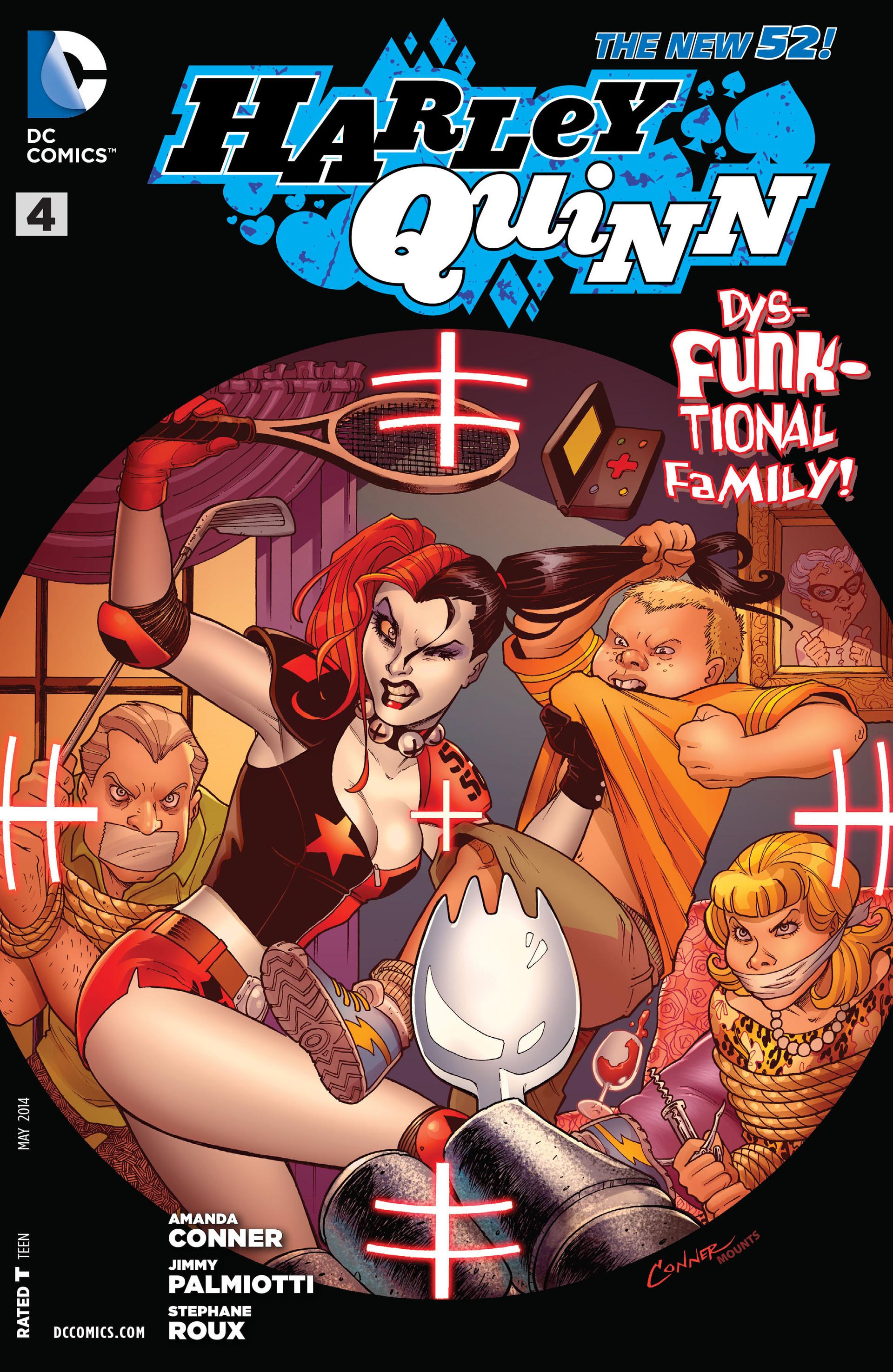 harley quinn volume 2 issue 4 batman wiki fandom powered by wikia