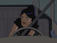 Yin in her car