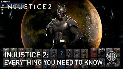 Injustice 2 - Todo lo que necesitas saber