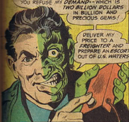 Two-Face-Threat of the Two-Headed Coin!