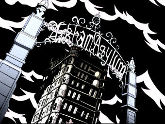 Arkham Asylum (The Batman) 01