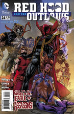 Red Hood and The Outlaws Vol 1-24 Cover-1