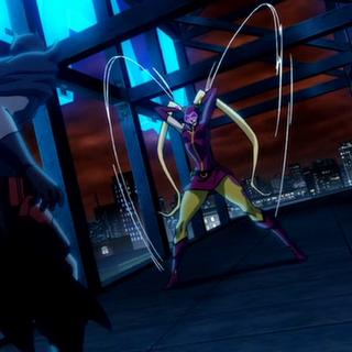 Batman pelea contra Yo-Yo