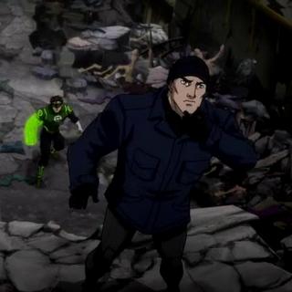 Bruce se prepara para salvar a Clark.