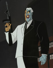 TWO-FACE dc animated universe