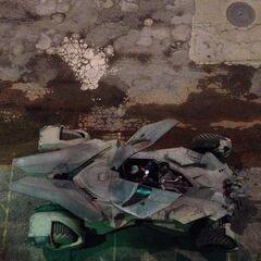 |Batmóvil en el set de rodaje [3]
