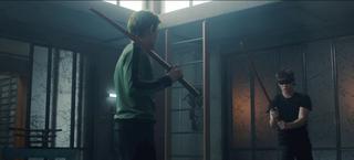 Titans - Gar y Jason entrenan