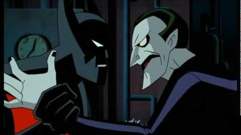 Batman Beyond Fighting the Joker