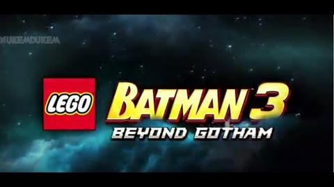 Lego Batman 3 Comic Con 2014 Trailer