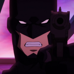 Batman se niega a matar.