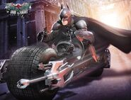 Batman on Batpod