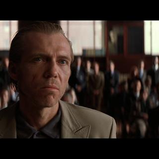 Joe Chill durante el juicio.
