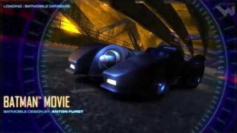 Batman Arcade - Selectable Batmobiles - Arcadeheroes