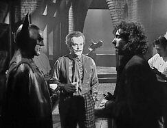 Keaton, Nicholson and Burton