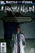 Battle for the Cowl Arkham Asylum -1