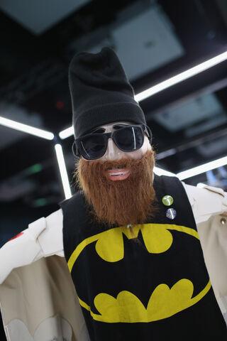 File:SDCC2014-Batman-Cape-Cowl create Art Exhibit 452635970.jpg