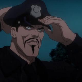Deadshot se disfraza de policía