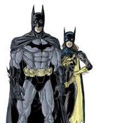 Batman z batgril