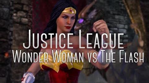 Wonder Woman vs the Flash