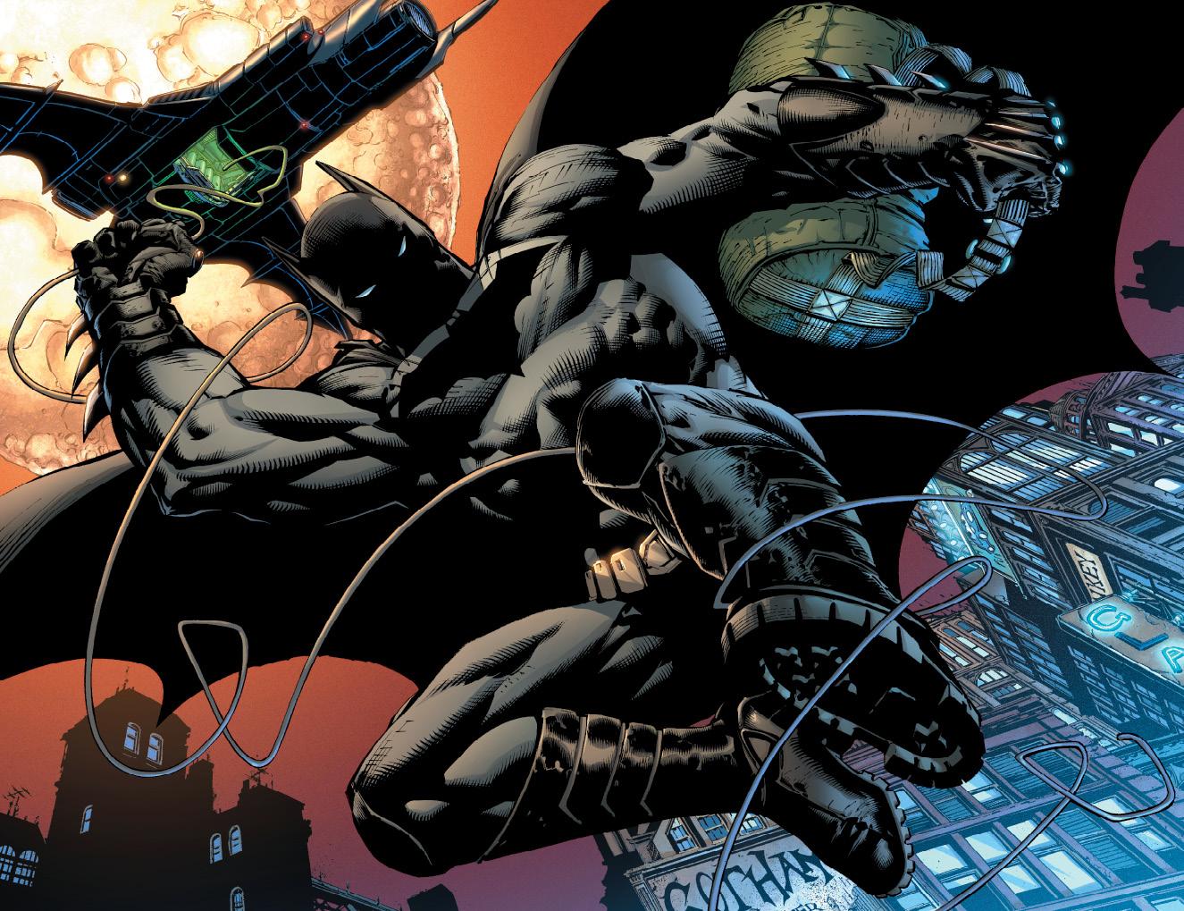 W New 52 Bat