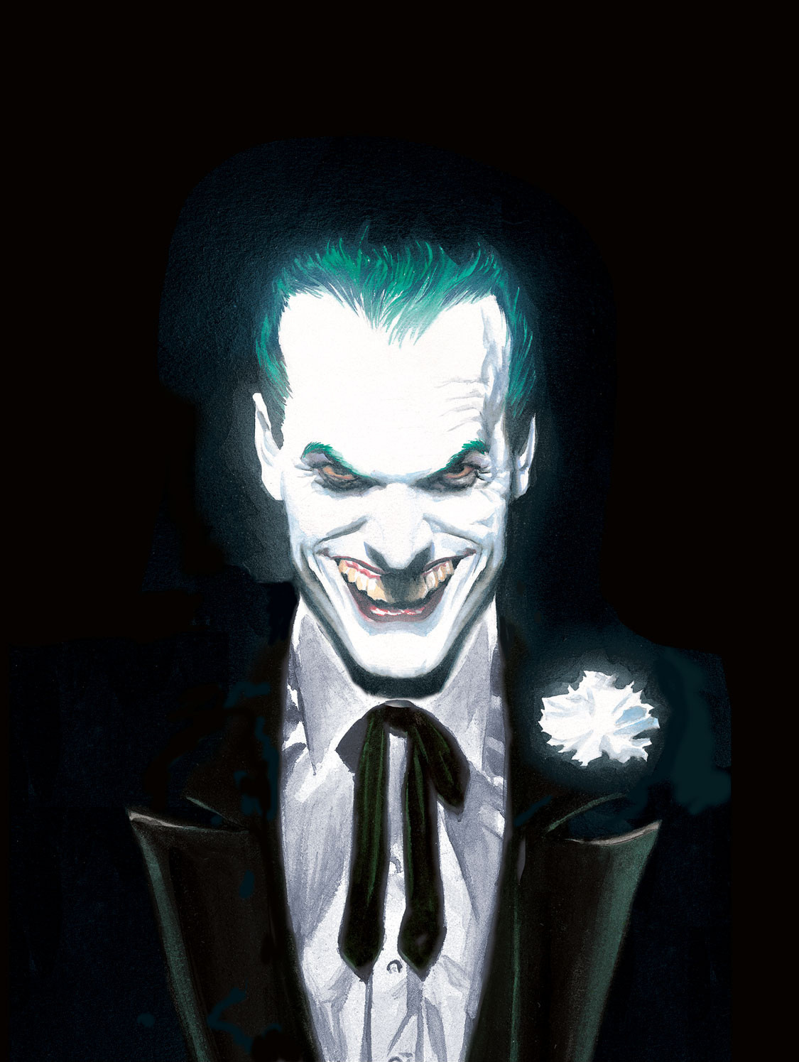 d4fd2b34 Alex Ross painted cover art for The Joker: The Greatest Stories Ever Told