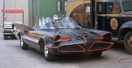 Batmobile studio lot