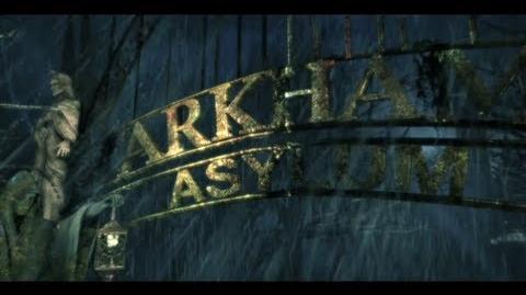 """Batman Arkham Asylum """"Environment"""" Trailer"""