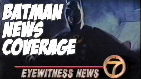 Batman 1989 TV News Coverage - Part 1