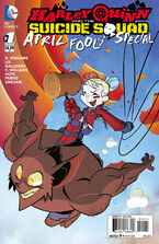 Harley Quinn and The Suicide Squad April Fool's Special Vol 2-1 Cover-2