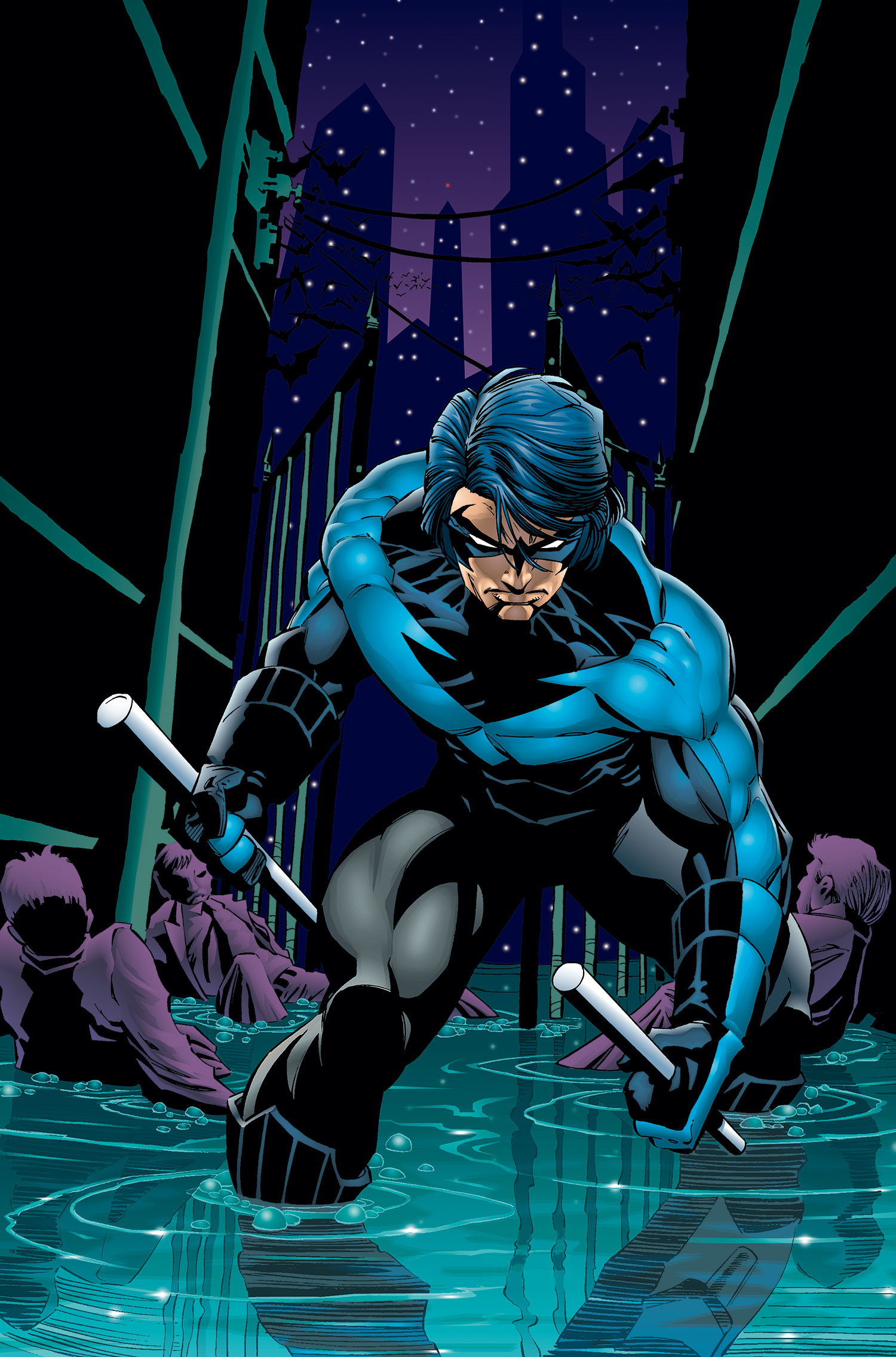 One Year Later Dick Grayson Returned To New York City His Previous Home Base With The Teen Titans In Order Find Out Who Had Been Masquerading As