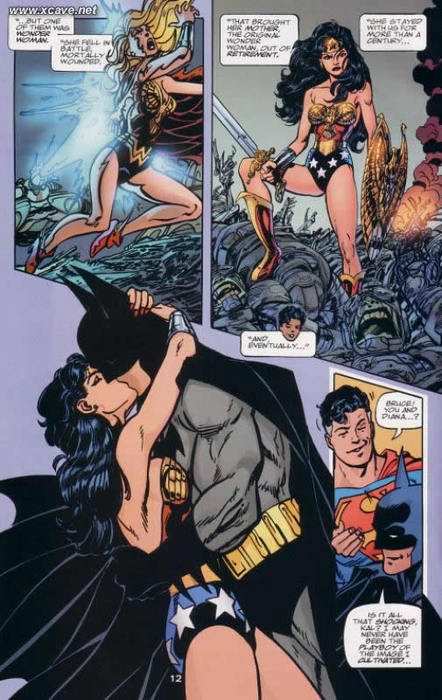Is Cudgel one's brains Woman Hookup Batman Or Superman