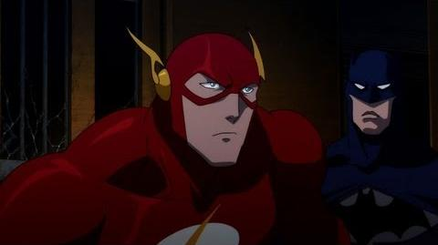 Justice League The Flashpoint Paradox - Trailer Debut