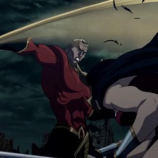 Aquaman pelea contra la Mujer Maravilla