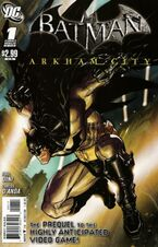Batman arkham asylum road to arkham comic book